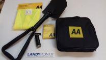 AA3386 - Kit Hiver Voiture: Pelle, Couverture de survie, Gilet et Lampe LED
