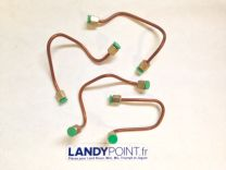 563165/8 - Diesel Injection Pipe Kit - 4 Pipes - Defender - Land Rover Series 3