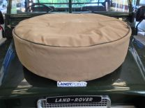 EXT402-2SA - Spare Wheel Cover - Sand Canvas - 7.50 x 16 / 235/85x16 - Exmoor - Defender / Land Rover Series