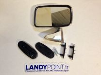 GAM216A - Stainless Steel LH Door Mirror - MG / Classic Mini