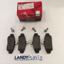 GBP90337 - Front Brake Pad Set - TRW - MGF / MGTF