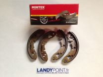 GBS834AF - Brake Shoe Set - Front / Rear - Single Cylinder - Mintex - Classic Mini / MG / Austin Healey