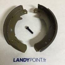 ICW500010R - Hand Brake Shoe Set - Aftermarket - Defender / Discovery 1 / Discovery 2 / Range Rover Classic / P38