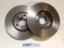 JLM20801R - Front Brake Discs - Pair - Aftermarket - S-Type - Jaguar