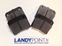 JLM9728R - Rear Brake Pads - IRS Models - XJ / XJS / E-Type - Aftermarket - Jaguar