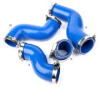 LRT723BLUE - Silicone Intercooler Hose Kit - Discovery 2 TD5