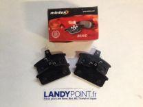MDB2912 - Rear Brake Pads - Mintex - Land Rover Santana PS10