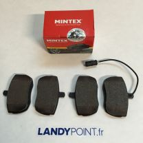 STC9187 - Front Brake Pads Set With Sensor - Mintex - Defendr / Discovery / Range Rover Classic