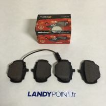 STC9189 - Rear Brake Pads Set With Sensor No Clips - Mintex - Defender 90 / Discovery / Range Rover Classic