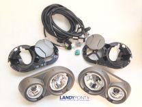 VUB502440 - Front Bumper Driving Lamps / Fog Light Kit - Genuine - Range Rover Sport