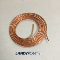 "ZAP123 - Copper Clutch Pipe 1/4"" per 0.30 metre"